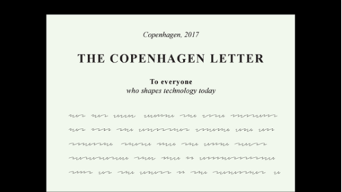 I signed the Copenhagen Letter on Ethics in Tech